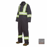 Richlu S794 Poly/Cotton Unlined Enhanced Visibility Coverall