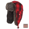 Richlu i15616 Plaid Aviator Hat
