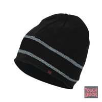 Richlu i45816 Acrylic Knit Beanie w/ Reflective Striping