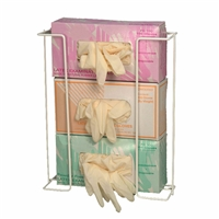 "Rack'Em ""Space Saver"" 3 Box Exam Glove Dispenser"