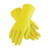 West Chester 3312 Flock Lined Yellow Latex Gloves