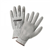 West Chester 713HUTS Touch Screen Gray Palm Coated HPPE Gloves