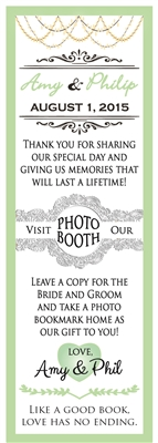 Personalized Insert - Photo Booth Nook Image