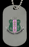 Alpha Kappa Alpha Double Sided Dog Tags