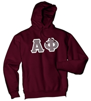 Alpha Phi Letter Hoodie