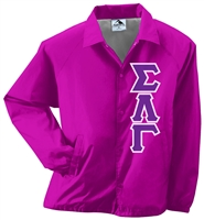 Basic Greek Letter Jacket