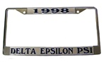 Delta Epsilon Psi License Plate Frame