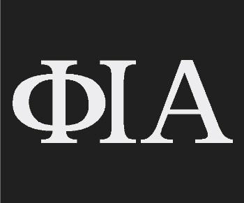 Phi Iota Alpha Standard Decal