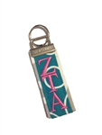 Zeta Tau Alpha Traditional Key fob