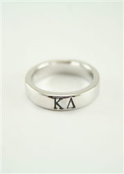 Kappa Delta Sterling Silver Ring