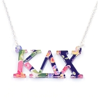 Kappa Delta Chi Floating Necklace