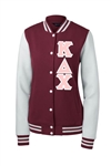 Kappa Delta Chi Fleece Letterman Jacket