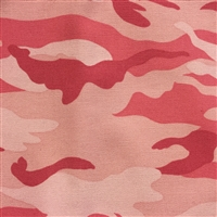 Pink Camo Pattern Greek Letter Apparel