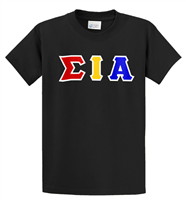 Sigma Iota Alpha Greek Letter Shirt