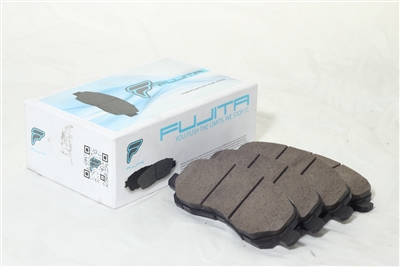 Fujita Brake Lifestyle Pads for 2007-2014 Jeep Patriot