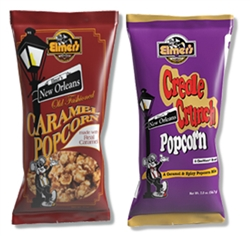Elmer's Half Caramel Popcorn and Half Creole Crunch Mix