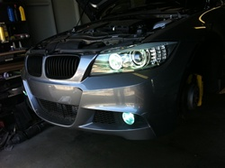 HID Angel Eyes + HID Fog Lights