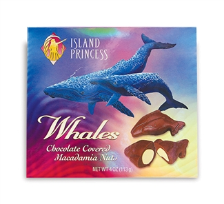 Chocolate Covered Whole Macadamia Nut Whales