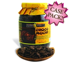 Choco Mochi Chocolate Covered Rice Crackers Large Jar