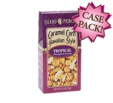 Caramel Corn Hawaiian Style Tropical 2.5 oz. Box