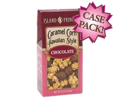 Hawaiian Style Chocolate Caramel Corn 2.5 oz. Box