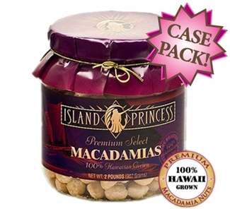 Premium Select Lightly Salted Whole Macadamia Nuts