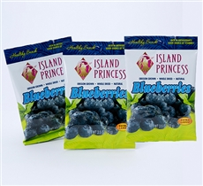 Dried Blueberries 2.5oz Snack Bags