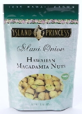 Maui Onion Macadamia Nuts resealable Bags