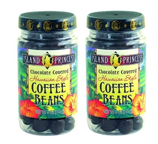 Chocolate Covered Coffee Beans Jar