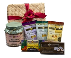 Hawaiian Aloha Gift Basket gourmet selection of seven of our best sellers!