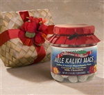 The Original Mele Kaliki Macs Large Jar in Gift Lauhala Box