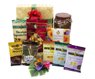 Deluxe Selection of Nine Island Princess Gourmet items Gift Basket