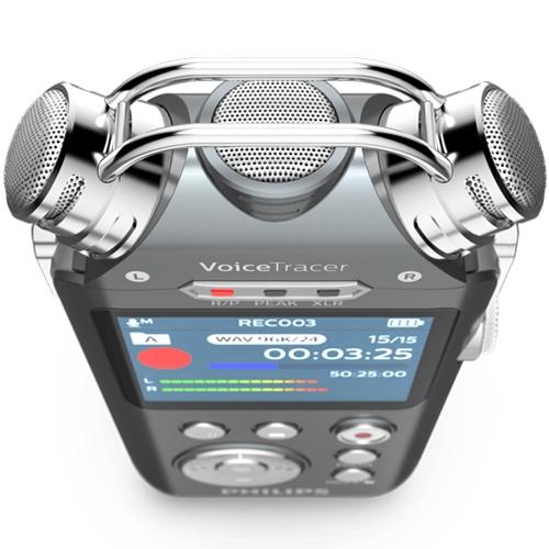 Philips Dvt7500 Digital Voice Tracer 0855971 006267