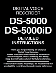 Olympus DS-5000 User Manual