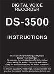 Olympus DS-3500 User Manual