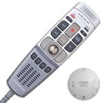 Olympus RecMic DR-1200 USB Microphone with trackball control.
