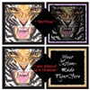 Personalized Tiger Print
