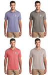 Port Authority Men's Gingham Polo