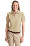 Port Authority Ladies Dry-Zone Ottoman Polo
