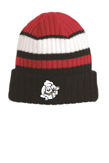 New Era Chef Logo Ribbed Tailgate Beanie