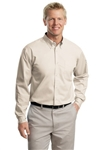 Port Authority Men's L/S Easy Care Twill