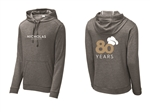 Men's Sport-Tek Tri-Blend Wicking Fleece Hooded Pullover