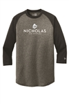 New Era Men's 3/4-Sleeve Baseball Raglan Tee