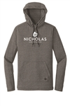 New Era Men's Tri-Blend Pullover Hoodie Tee