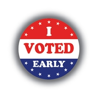 I Voted Early • Roll of 1000