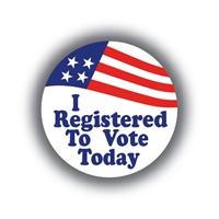 I Registered To Vote Today • Roll of 1000