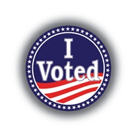 I Voted • Roll of 1000