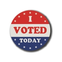 I Voted Today • Roll of 1000