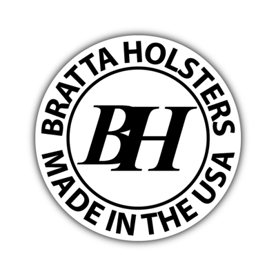 "Bratta Holsters 3"" Decal - 10 PACK"