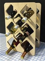 8 Bottle Wine Bottle Rack